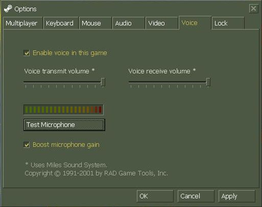 Настройка и подключение микрофона в CS 1.6
