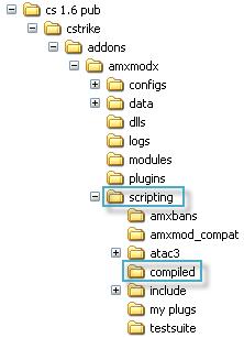 Компилирование плагина CS 1.6: Sma в Amxx